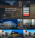 Real Estate WordPress Template 61275