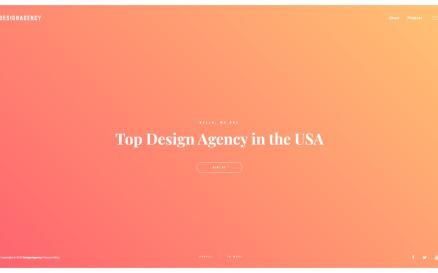 Design Agency Responsive Multipage Website Template