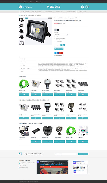 ADOBE Photoshop Template 61278 Home Page Screenshot