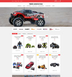 Entertainment OpenCart  Template 61280