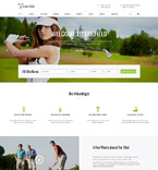 Sport Website  Template 61283