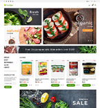 Food & Drink PrestaShop Template 61287
