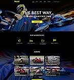 Sport Moto CMS HTML  Template 61288