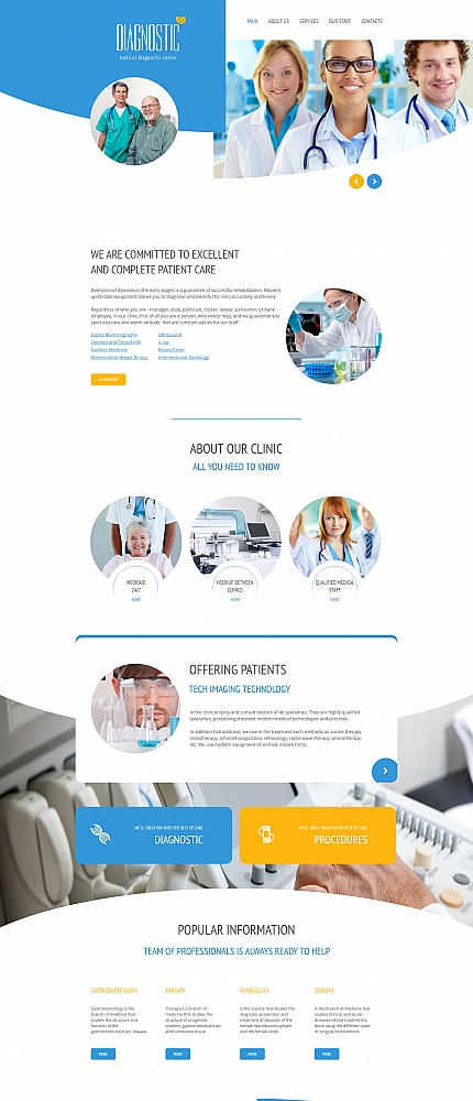 ADOBE Photoshop Template 61289 Home Page Screenshot