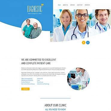 Купить Шаблон медицинского сайта. Купить шаблон #61289 и создать сайт.