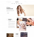 Beauty Moto CMS HTML  Template 61290