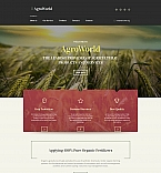 Agriculture Moto CMS HTML  Template 61292