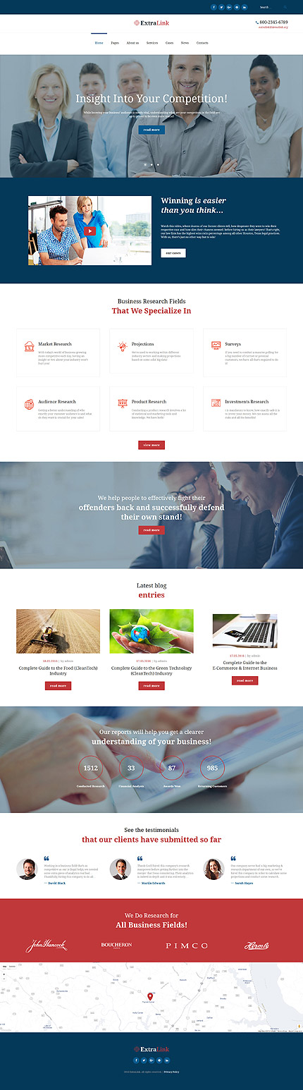 ADOBE Photoshop Template 61299 Home Page Screenshot