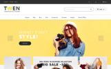 Адаптивний PrestaShop шаблон на тему мода