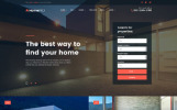 Адаптивний WordPress шаблон на тему нерухомості