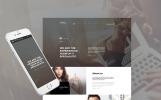 Bootstrap Šablona webových stránek na téma Informační technologie