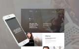 Bootstrap Website template over IT