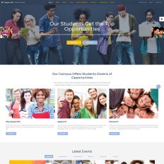 College Green Website Templates - Template Monster