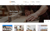 Crafter - Interior Multipage Classic HTML Bootstrap Template Web №61235