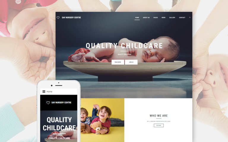Day Nursery Center - Child care & Babysitter Responsive Joomla Template New Screenshots BIG