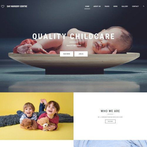 Day Nursery Center  - Joomla! Template based on Bootstrap