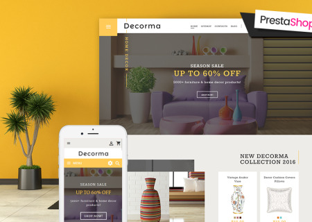Decorma - Furniture Responsive