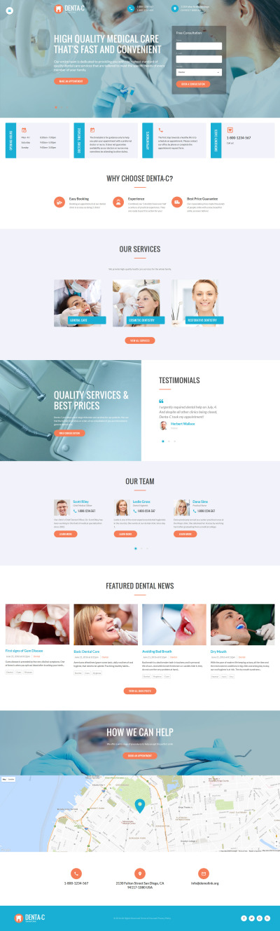 35 Best Dentistry Website Templates