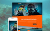 """Diving Club - Sports & Plein Air & Plongée"" thème Joomla adaptatif New Screenshots BIG"
