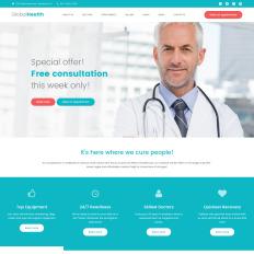 20 best premium wordpress doctor themes 2018 templatemonster