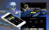 Gokartozás témakörű  Moto CMS HTML sablon New Screenshots BIG
