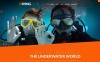 """Joomla Vorlage namens """"Diving Club - Sports & Outdoors & Diving Responsive"""" New Screenshots BIG"""