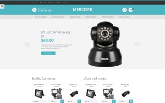 Mercore - Safety Equipment Store PrestaShop Theme