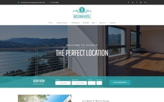 NiceInn - Small Hotel Responsive WordPress Theme