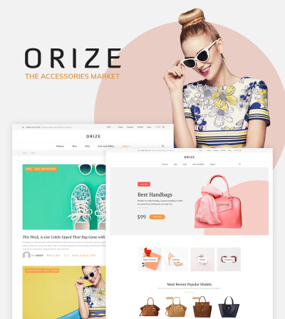 Orize - Accessories WooCommerce Theme #61249