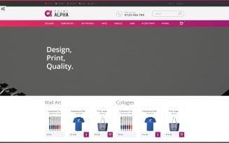 PrintAlpha - Design & Decor PrestaShop Theme