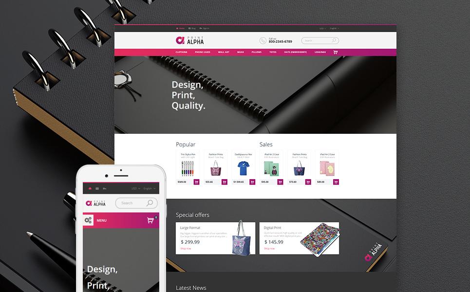 PrintAlpha - Design & Decor PrestaShop Theme New Screenshots BIG
