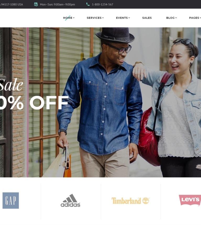 Website Vorlage #61211 für Großhandel-Geschäft