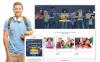 Responsive Website Vorlage für Universität  New Screenshots BIG