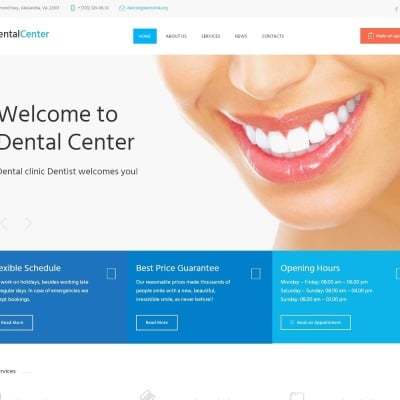 Responsywny motyw WordPress #61273 na temat: stomatologia