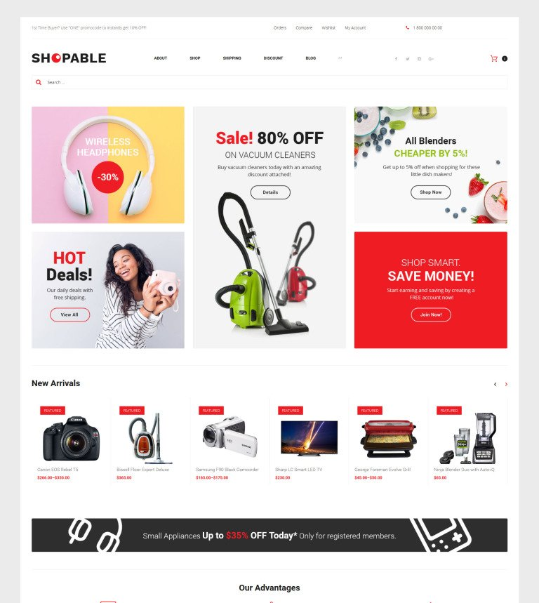 Wholesale Store WooCommerce Theme - Real estate wholesale website templates