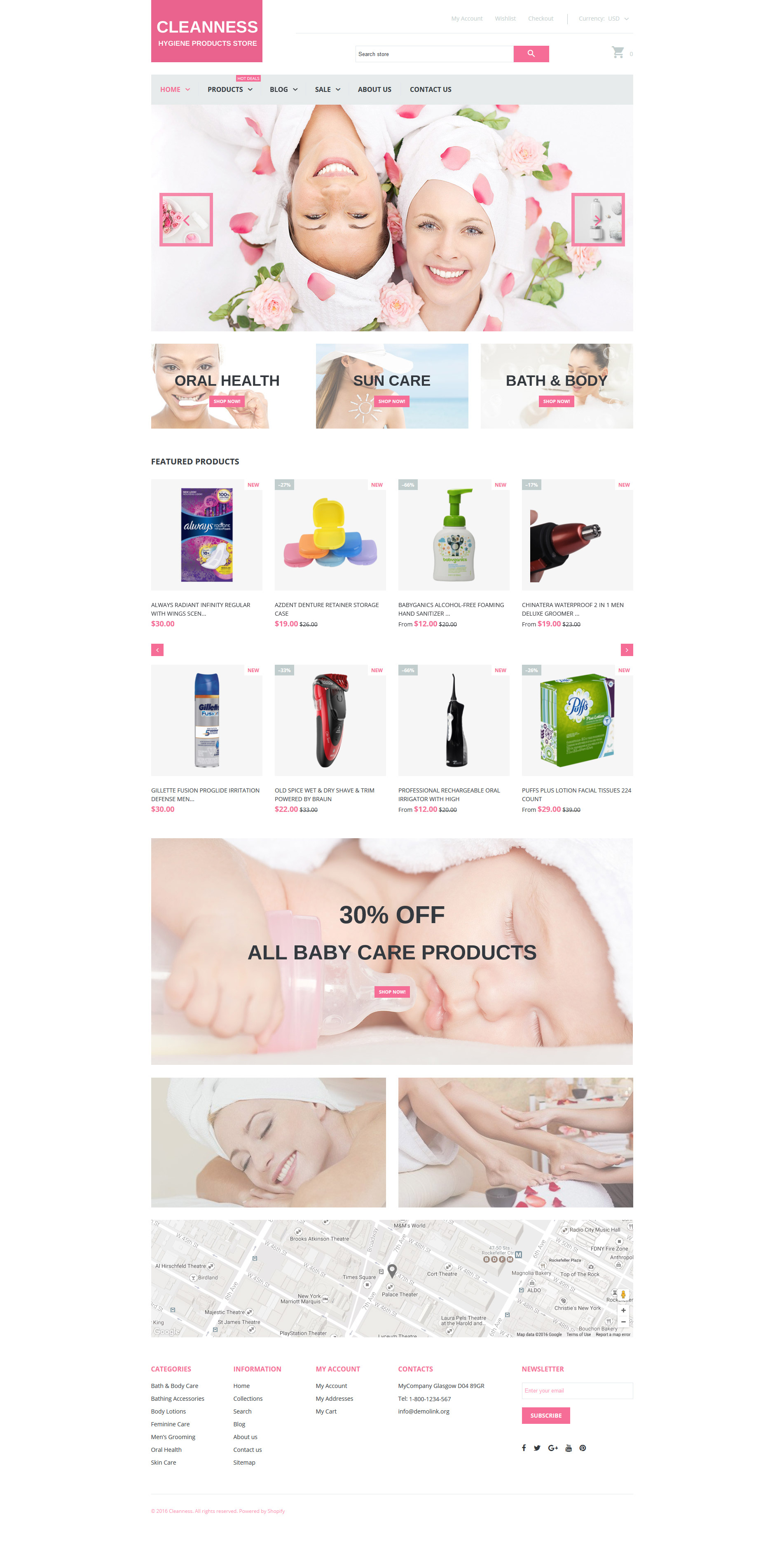 Spa Accessories Responsive Shopify Theme