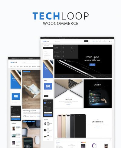 TechLoop - Electronics & Gadgets Store Responsive WordPress Theme