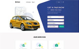 "Tema Siti Web Responsive #61233 ""City Taxi"""