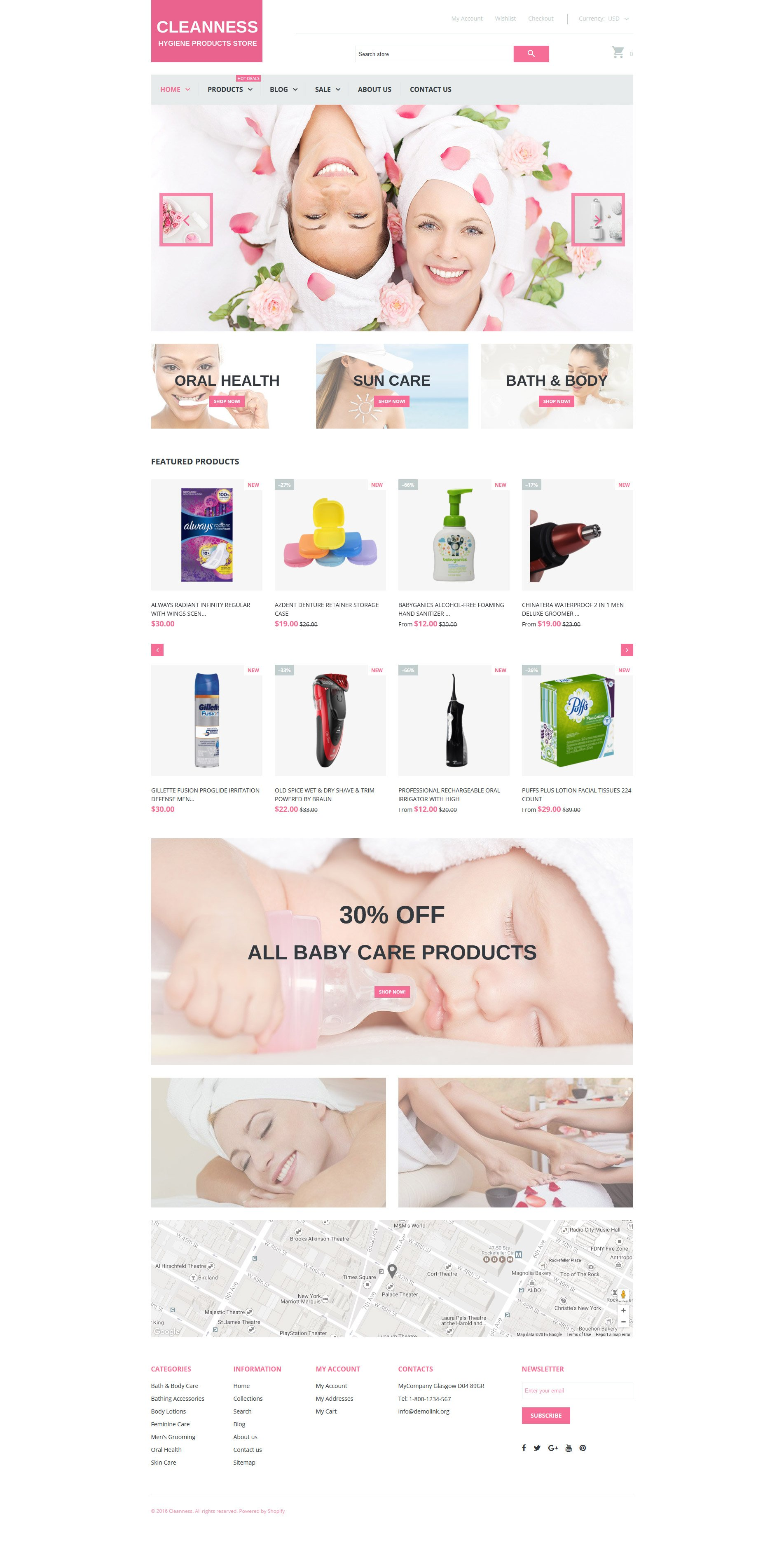 Template Shopify Responsive #61207 per Un Sito di Accessori SPA - screenshot