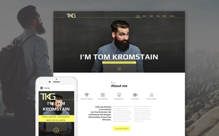TKG Responsive Joomla Template New Screenshots BIG