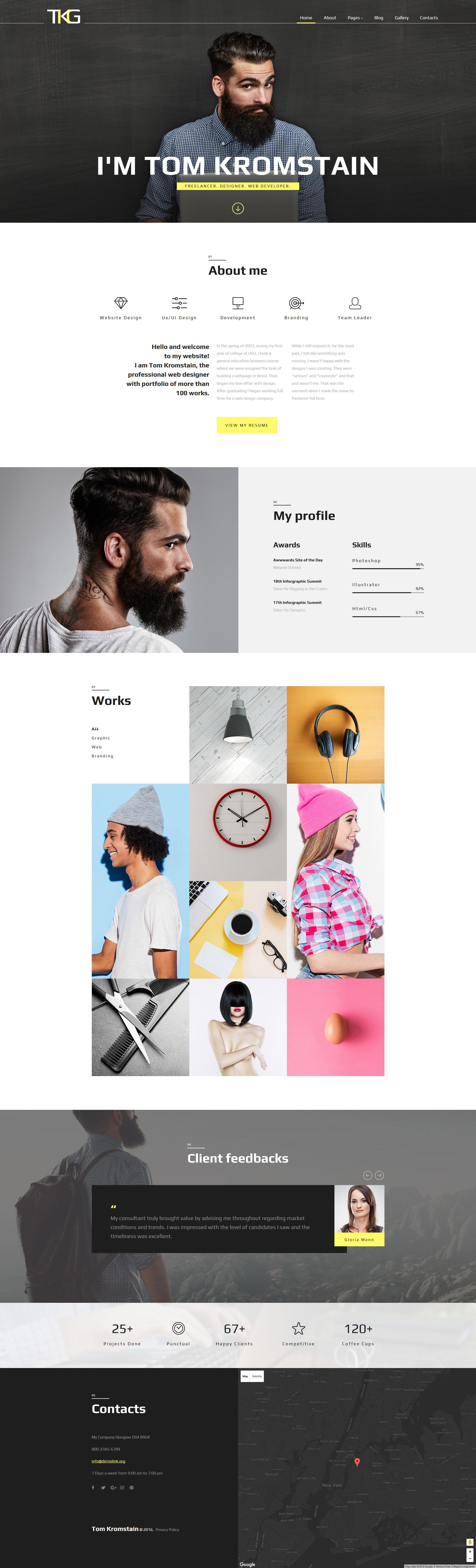 Joomla tshirt design - Tkg Responsive Joomla Template