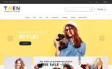 Twen - Moda Mağazası Duyarlı PrestaShop 1.7 teması