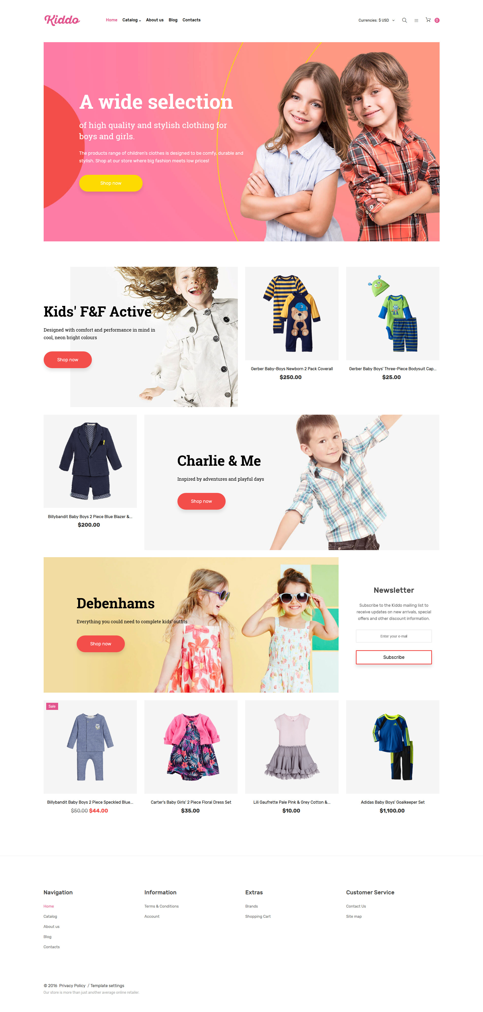 VirtueMart Template over Kinderwinkel №61272