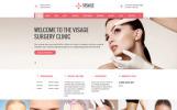 "Website Vorlage namens ""Visage - Plastic Surgery Clinic"""