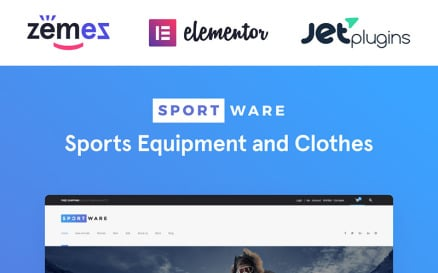 SportWare - Sport Equipment & Clothes WooCommerce Theme