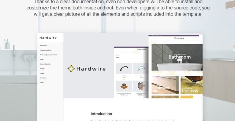 Hardwire Is A Fully Responsive And Seo Friendly Home Goods Store Woocommerce Theme Manufactured For House Supplies Websites Enjoy The Full Power Of Tm