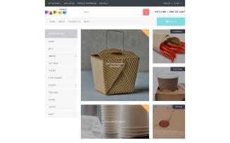Paper Market - Packaging Responsive OpenCart Template