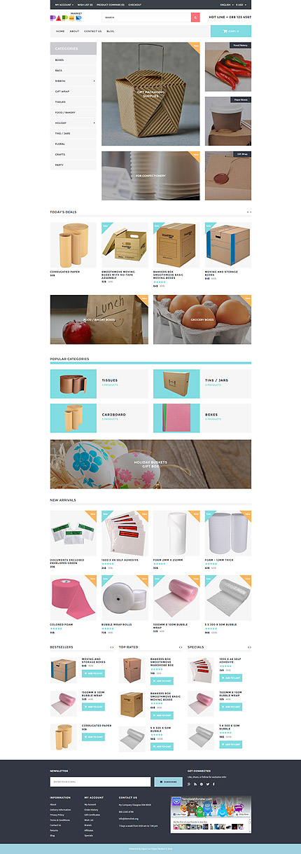 ADOBE Photoshop Template 61307 Home Page Screenshot