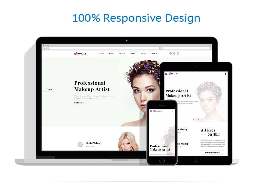 Modèles HTML5 Beauté #61316