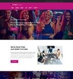 Entertainment WordPress Template 61322